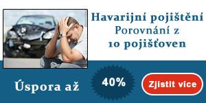 Havarijní pojištění - úspora až 40%